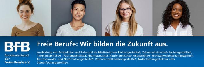Freie Berufe: Wir bilden die Zukunft aus.